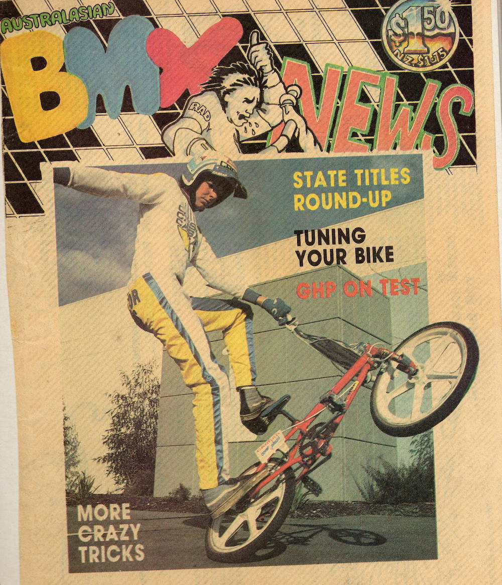 BMX News Cover Shot